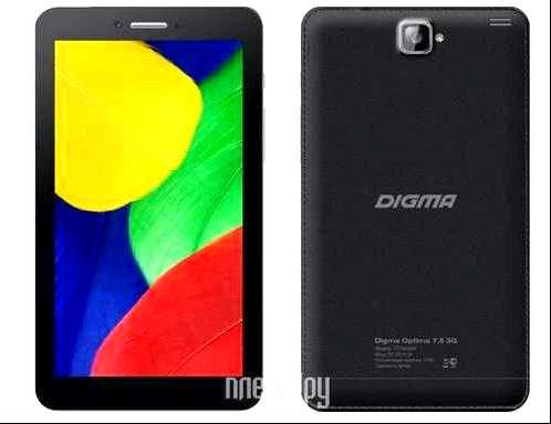 Отзывы Digma Plane 7.5 3G отзыв