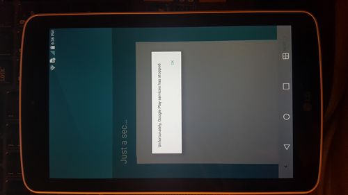 Получение root LG G Pad F7.0 LK430